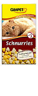 Gimpet Schnurries витамины для кошек с таурином и курицей (650 шт)