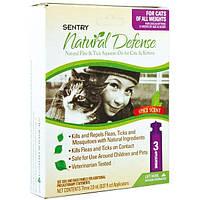 SENTRY НАТУРАЛЬНАЯ ЗАЩИТА (Natural Defense) капли от блох и клещей для кошек всех пород