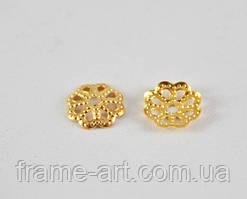 5138 Обниматель для бусин 13,5мм золото
