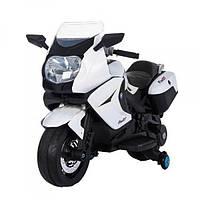 Детский мотоцикл Tilly (Т-7214 WHITE) на аккумуляторе 6V/7Ah