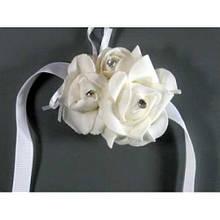 Украшение виньетка Цветы белые