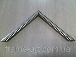 Италия 205,15,сер 15 мм серебро с углублениями