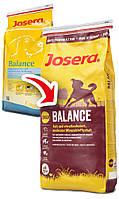 Josera (Йозера) Balance - Сухой корм для пожилых и малоактивных собак, 15 кг.
