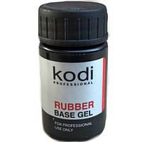 Базовое покрытие KODI Rubber Base Kodi (14ml) под гель лак (без кисточки) для наращивания ногтей