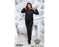 Теплый спортивный костюм женский - 16884