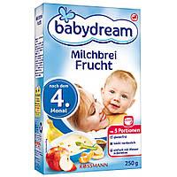 Babydream Молочная фруктовая каша 4-го месяца 250 г