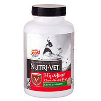 Nutri-Vet СВЯЗКИ И СУСТАВЫ ЭКСТРА (Hip&Joint Extra) глюкозамин хондроитин МСМ для собак 120 таб