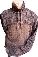 Мужской шерстяной свитер Vangola БАТАЛ 2XL-3XL Турция оптом