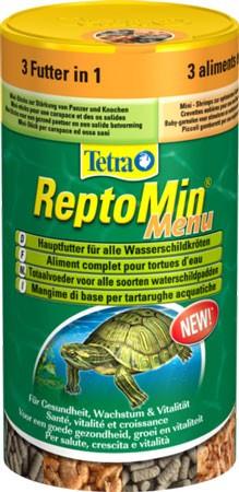 Tetra Reptomin Menu - Корм для черепах (250 мл) - Идеал24 в Тернополе