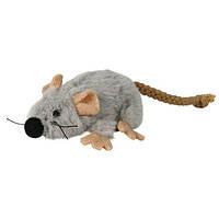 Trixie Игрушка для кошек Мышь c мятой, 7 см.