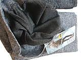 Меланжевые женские лосины, утеплённые байкой, фото 4