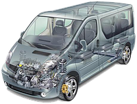 Запчасти Opel Vivaro