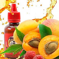 PUFF 50мл Малиновый персик / Raspberry Peach - Жидкость для электронных сигарет (Заправка) 0 мг/мл, 30%