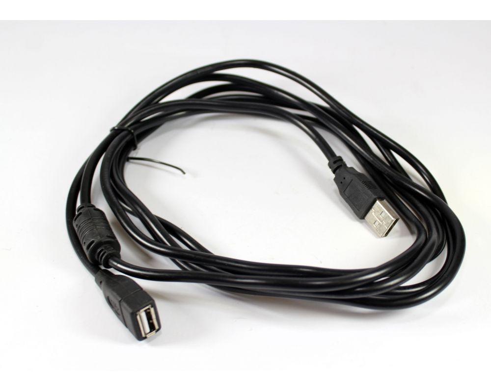 Кабель удлинитель USB-USB 3м, USB удлинитель на 3 метра