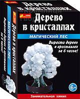 Дерево в кристаллах (белое) (0261)