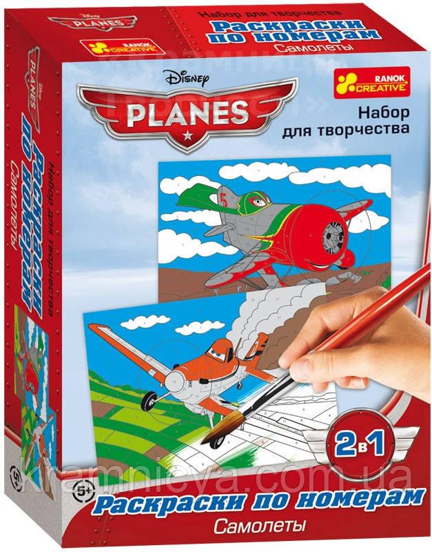 Раскраски по номерам 'Самолеты. Огонь и вода' (4004-12)