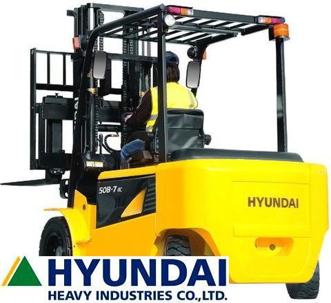 Электрический погрузчик Hyundai 40В-7