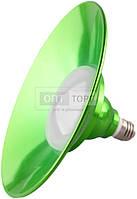 Lemanso Лампа Lemanso LED IP65 + метал. отражатель 18W E27 1440LM 6500K зелёный/ LM709