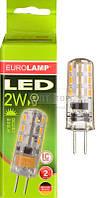 EUROLAMP Светодиодная лампа EUROLAMP LED капсульна G4 2W G4 3000K 12V (20)