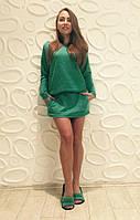 Домашний комплект платье-туника с тапочками