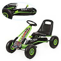 Детская педальная машина веломобиль Карт M 0645-5***