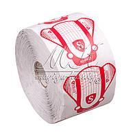 Формы для наращивания ногтей Salon Professional (белые с красным) 500 шт. , фото 1