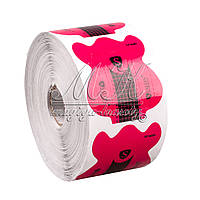 Формы для наращивания ногтей Salon Professional (розовые с черным) 500 шт., фото 1