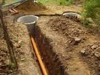 Монтаж наружной канализации ПВХ, фото 1