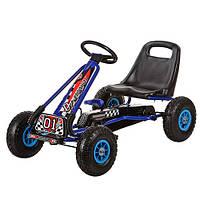 Детская педальная машина веломобиль Карт M 0645-4***