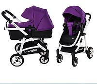 Универсальная коляска-трансформер 2в1 CARRELLO Fortuna CRL-9001 Purple ***