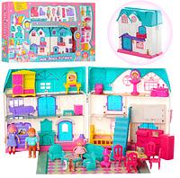 Кукольный дом 1205 музыка, свет, мебель, фигурки ***