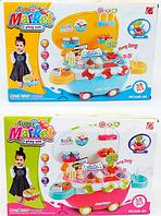 """Детский магазин-чемодан """"Мороженое"""" со светом и звуком и USBвходом 668-43-44***"""