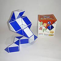 Змейка Рубика синяя Shengshou, пружинный механизм