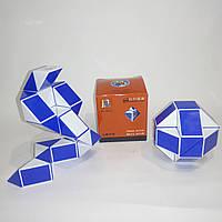 Змейка Рубика Shengshou Wind синяя (улучшенный, пружинный механизм)
