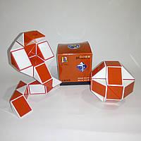 Змейка Рубика Shengshou Wind красная (улучшенный, пружинный механизм)