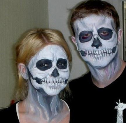 Аквагрим на Хэллоуин Сумы