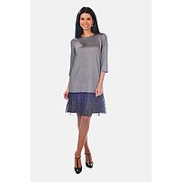 Платье Lila 52548 серый L