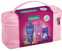 Palmolive набор: гель для душа, мыло, Lady Speed Stick + розовая сумочка