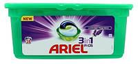 ARIEL 3-в-1 Лаванда капсулы для стирки универс., 28 шт.