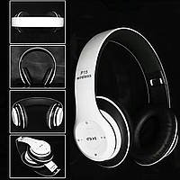 Беспроводные наушники P15 WIRELESS HEADPHONE monster beats solo 2 c  FM Bluetooth White  РАСПРОДАЖА fc3843725d8d7