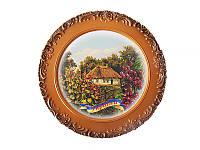 Подвесная тарелка  Мальвы (Картины, панно)