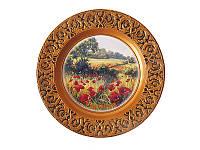 Подвесная тарелка  Поле с маками (Картины, панно)