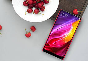 Чехол Nillkin Matte для Xiaomi Mi Mix 2 (+ пленка) Красный