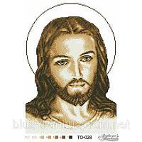 Бисерная заготовка ТО-028 - Иисус