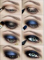 Данный макияж был выполнен с помощью теней Тени для век Max Factor 28 Color Eye Shadow (Макс Фактор 28 Колор Ай Шадоу) №4 http://luxryad.com/p30388021-teni-dlya-vek.html