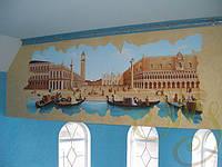 Настенная роспись. Площадь Сан-Марко