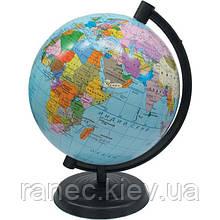 Глобус политический 11 см. 132027  украинский язык