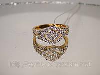 Женский перстень в позолоте, фото 1