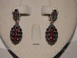 Сережки з рубіном, фото 4