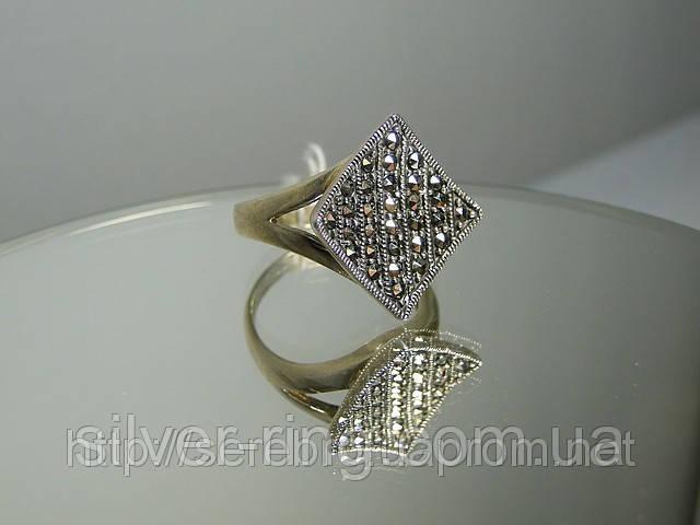 Перстень из капельного серебра